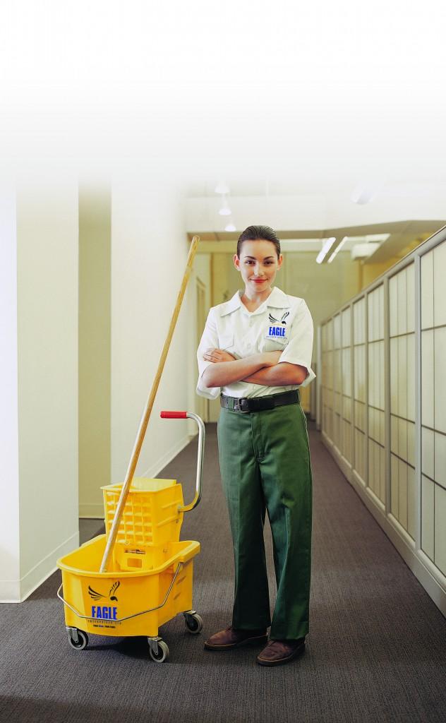 Girl Mop Bucket